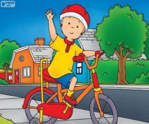Puzzle de La nueva bicicleta de Callou