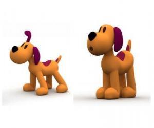 Puzzle de La perrita Loula o Lula es la mascota de Pocoyó