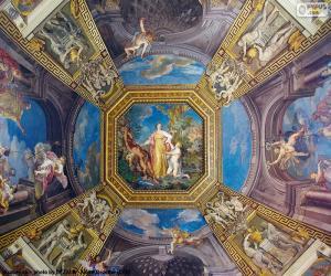 Puzzle de La pintura de una cúpula del Vaticano