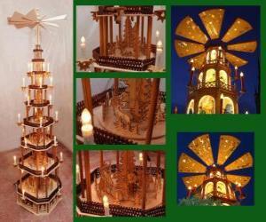 Puzzle de La Pirámide Navidad
