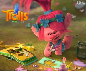 Puzzle de La Princesa Poppy, Trolls