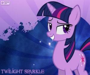 Puzzle de La Princesa Twilight Sparkle es súper inteligente