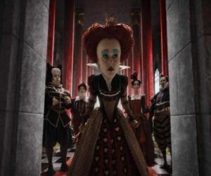 Puzzle de La Reina Roja (Helena Bonham Carter), es la tiránica monarca del Submundo.