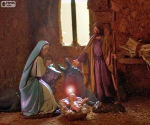 Puzzle de La Sagrada Família en Nochebuena