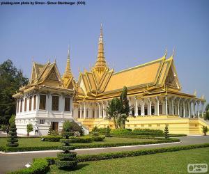 Puzzle de La sala del trono, Camboya