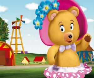 Puzzle de La señora Tubby Bear la vecina de Noody