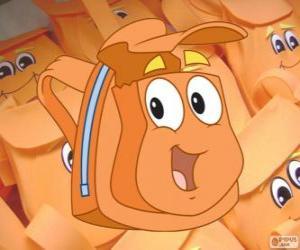 Puzzle de La simpática mochila mágica de Diego