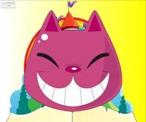 Puzzle de La sonrisa del gato de Cheshire