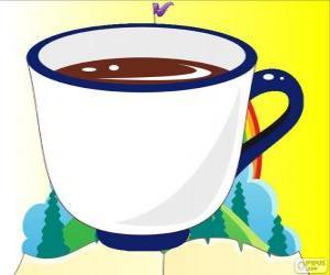 Puzzle de La taza de té de Alicia