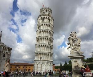 Puzzle de La Torre de Pisa, Italia