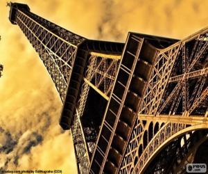 Puzzle de La Torre Eiffel, Paris