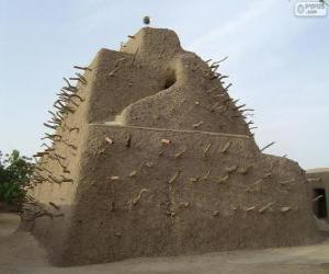 Puzzle de La Tumba de los Askia en Gao, Malí