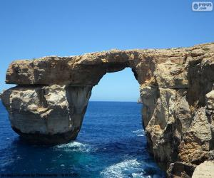 Puzzle de La Ventana Azul, Malta