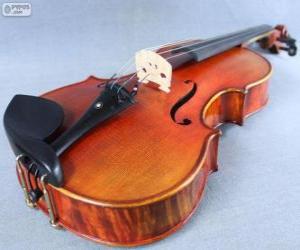 Puzzle de La viola, instrumento musical de cuerda
