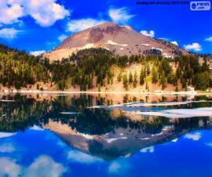 Puzzle de Lago Helen, Estados Unidos