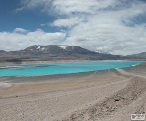 Puzzle de Laguna Verde, Chile