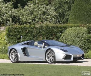 Puzzle de Lamborghini Aventador Roadster