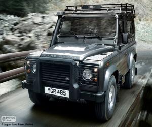 Puzzle de Land Rover Defender 90