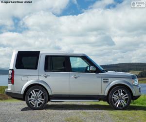 Puzzle de Land Rover Discovery 2015