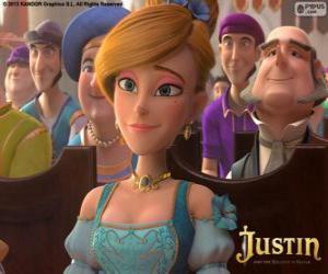 Puzzle de Lara, la hija mimada del hombre más rico del reino
