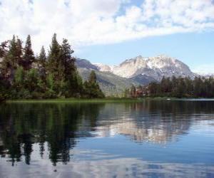 Puzzle de Las aguas tranquilas de un lago
