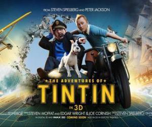 Puzzle de Las aventuras de Tintín: el secreto del Unicornio