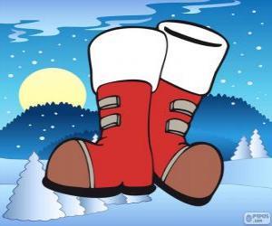 Puzzle de Las botas de Papá Noel