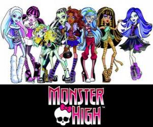 Juegos de Puzzles de Monster High 3