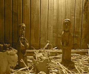 Puzzle de Las figuritas del Nacimiento o belén de madera