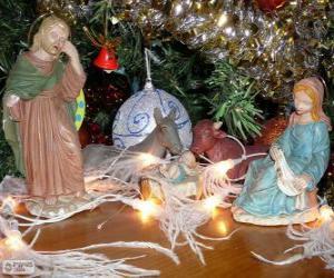 Puzzle de Las figuritas del Nacimiento o belén
