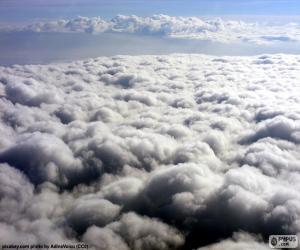 Puzzle de Las nubes