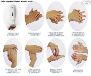Puzzle de Lavado de manos