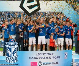 Puzzle de Lech Poznań campeón 14-15