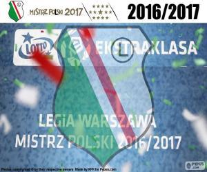 Puzzle de Legia, campeón 2016-2017