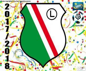 Puzzle de Legia Varsovia, Ekstraklasa 17-18