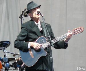Puzzle de Leonard Cohen (1934-2016)