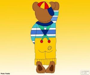 Puzzle de Letra I de osos