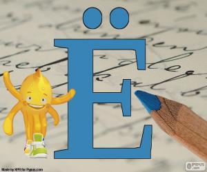 Puzzle de Letra rusa Ё