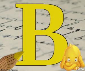 Puzzle de Letra rusa В
