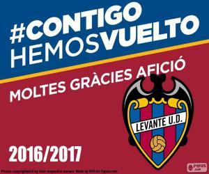 Puzzle de Levante UD 2016-2017