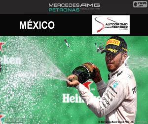 Puzzle de Lewis Hamilton, GP México 2016