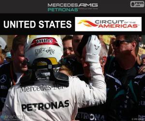 Puzzle de Lewis Hamilton, GP USA 16