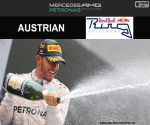 Puzzle de Lewis Hamilton, Gran Premio de Austria 2016
