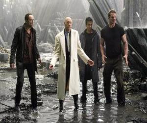 Puzzle de Lex Luthor  Industrial millonario, que le envidia y odia a muerte, siendo el principal villano. Llegó a ser presidente de los Estados Unidos.