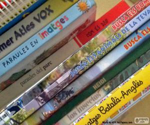 Puzzle de Libros educativos