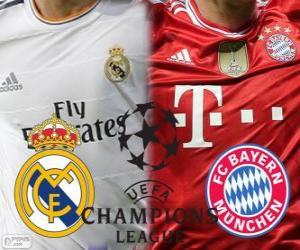 Puzzle de Liga de Campeones - UEFA Champions League semifinal 2013-14, Real Madrid - Bayern