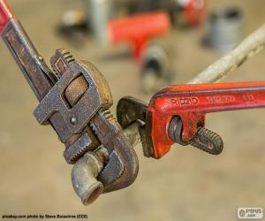 Puzzle de Llaves para tubos