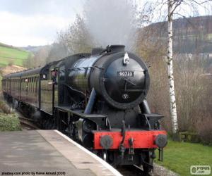 Puzzle de Locomotora a vapor