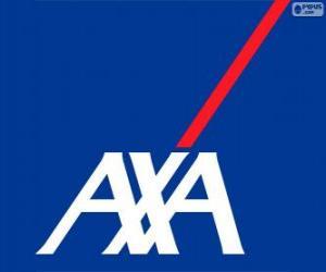 Puzzle de Logo AXA