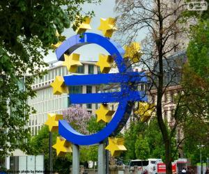 Puzzle de Logo Banco Central Europeo